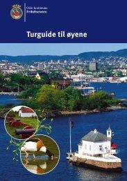 Turguide til øyene i indre Oslofjord