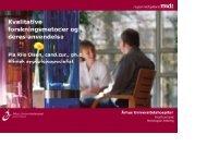kvalitative forskningsmetoder og deres anvendelse v ... - DMCG-PAL