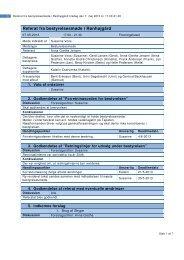 Referat fra bestyrelsesmøde i Rønhøjgård - Ronhojgaard
