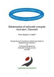 Bekæmpelse af seksuelle overgreb mod børn i Danmark
