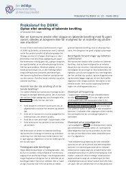 Praksisnyt fra DUKH: nr. 13 - marts 2012