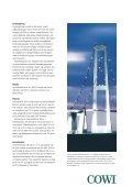 Storebæltsforbindelsen, Østbroen - Cowi - Page 2