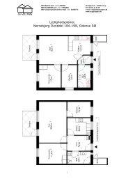 Lejlighedsplaner, Nørrebjerg Runddel 184-198 ... - SEP Gruppen
