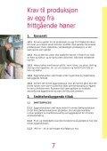 Kvalitetssystem i produksjon av egg fra frittgående høner - Nortura - Page 7