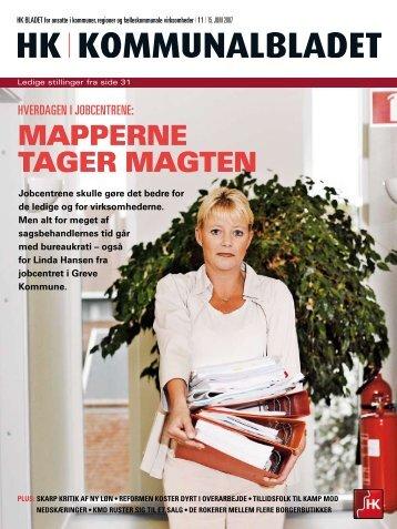 MAPPERNE TAGER MAGTEN - HK