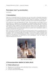 Rumrejser med 1 g acceleration 1 Introduktion 2 ... - math2earth