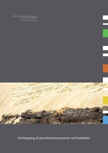 Kortlægning af grundvandsressourcen ved Holstebro