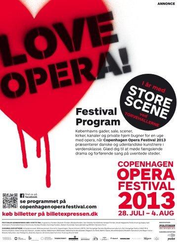 Festival Program - Copenhagen Opera Festival