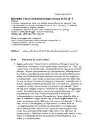 Referat fra SU-møtet mandag 27.mai-13