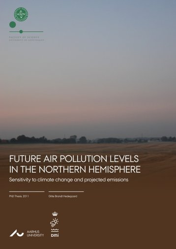 Future air pollution levels in the Northern Hemisphere - Sensitivity to ...
