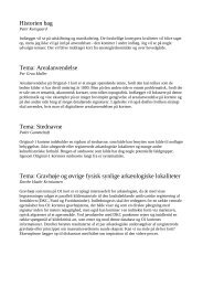 Referater af foredragene - HisKis