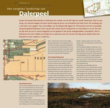 Dalerpeel - Stichting Het Drentse Landschap