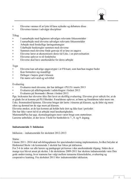 2013-06-01 skoleplan - Hedensted Skole