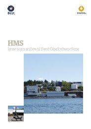 Kap 8 Statoils krav til Best - Norske Varmeforhandlere