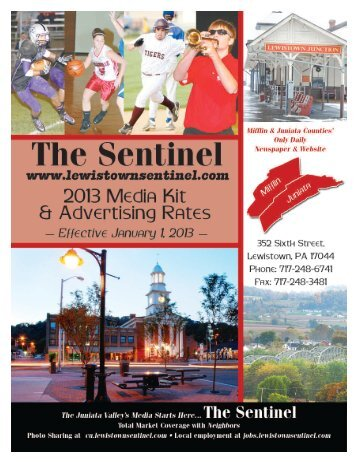Advertising Rates - The Sentinel