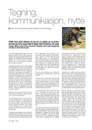 Tegning, kommunikasjon, nytte - Kunst og design i skolen