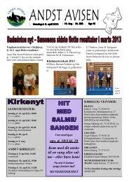 Andst Avisen uge 15 2013