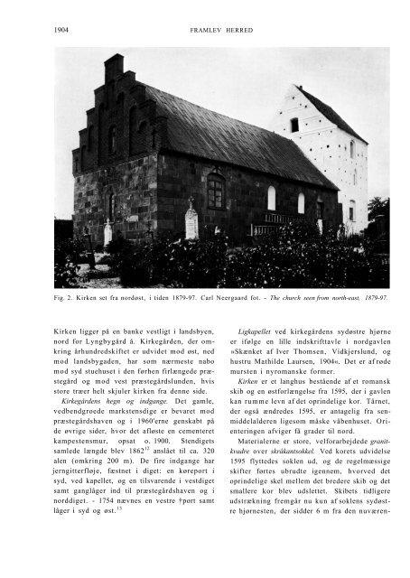 Sjelle Kirke - Nationalmuseet
