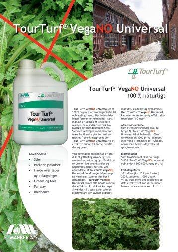 TourTurf® VegaNO Universal - E. Marker A/S