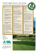 TourTurf® VegaNO Universal - E. Marker A/S - Page 2