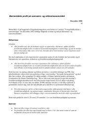 Børnerådets profil på samværs- og skilsmisseområdet