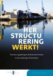 magazine Herstructurering Werkt - Stadsregio Rotterdam