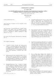 Kommissionens afgørelse af 5. februar 2010 om ... - Datatilsynet