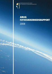 arlIg flyvesIkkerhedsrapport 2008 - European Aviation Safety ...