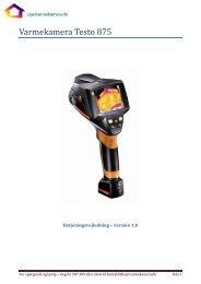 Betjeningsvejledning - version 1.0 (PDF format) - let og fair termografi