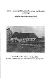 medl-2003 - Brande Historie