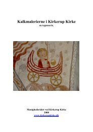 Kalkmalerierne i Kirkerup Kirke
