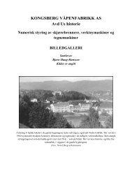 Billedgalleri - Kongsberg Systemer