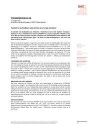 Download hele pressemeddelelsen som PDF - Dansk Arkitektur ...