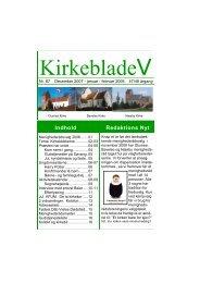 KirkebladeV - Hjemmeside