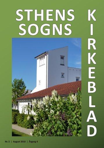 Nr. 2 | August 2010 | Årgang 4 - Sthens Kirke