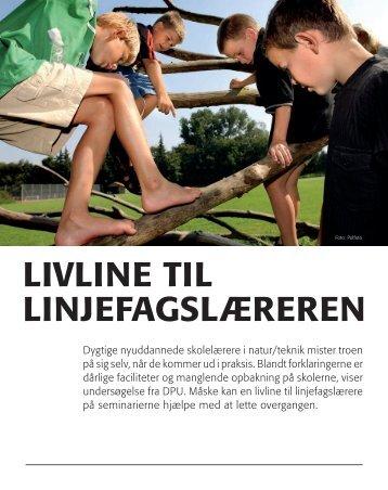 lIVlINE TIl lINJEFAGSlÆREREN - DPU