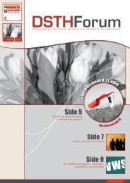 Side 5 Side 7 Side 9 - Dansk Selskab for Trombose og Hæmostase