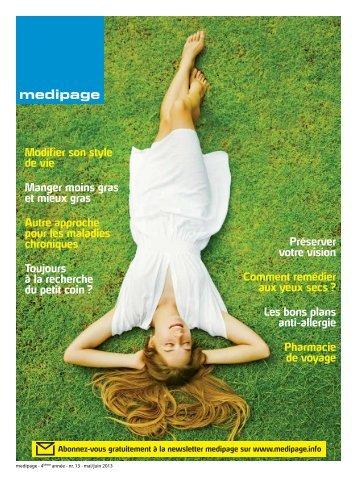 Télécharger la dernière édition - Medipage