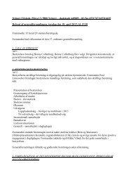 Referat fra generalforsamlingen d. 18. april 2013 - Nyborg Friskole