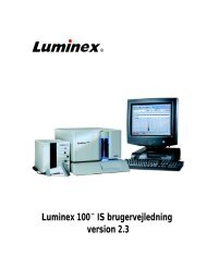 Luminex 100 IS User Manual. To be used only by Scott Placke.