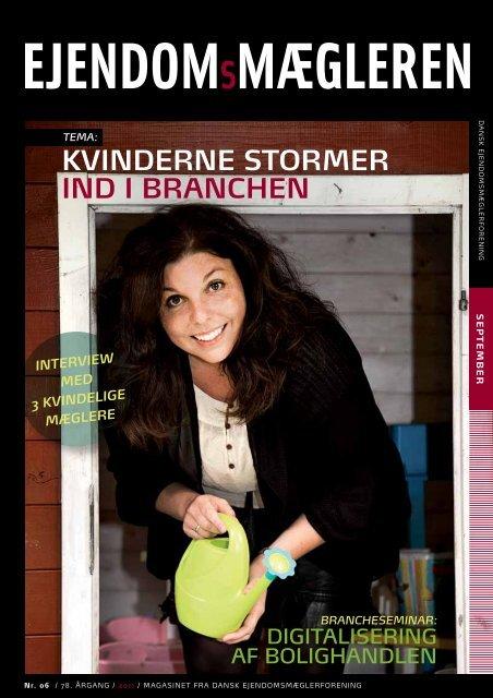 Udgave 6, september måned 2011 - Dansk Ejendomsmæglerforening