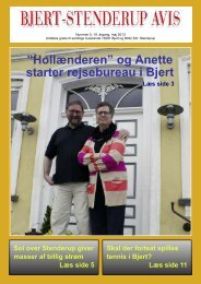 """Hollænderen"""" og Anette starter rejsebureau i Bjert - Sdr. Stenderup"""