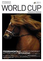 hingsteoversigt rytterlister | InTervIewS og meget ... - World Toelt