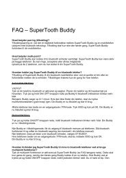 FAQ – SuperTooth Buddy - FDM netbutik