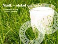 Sund og velsmagende mælk - LandbrugsInfo