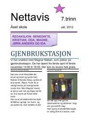Nr. 1 Oktober - Åset skole