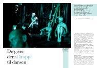De giver deres kroppe til dansen - Camilla Rønde