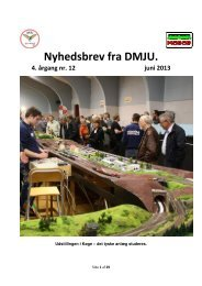 Nyhedsbrev nr.12. Juni 2013. - Dansk Model Jernbane Union