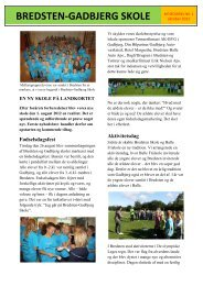 Nyhedsbrev nr. 1 2012 - BREDSTEN-GADBJERG SKOLE