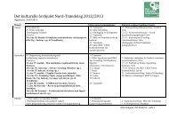 Det kulturelle årshjulet 2010-2011 - Nord-Trøndelag fylkeskommune